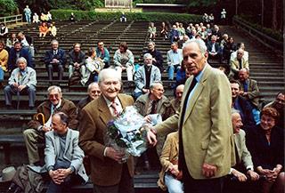 Ein Bild aus der Gründungszeit des Vereines Freunde der Freilichtbühne e.V.